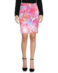 Who*s Who - Who*s Who Knee Length Skirt - Lyst