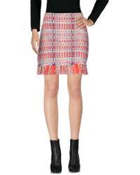 Tory Burch - Mini Skirt - Lyst