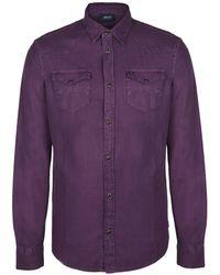 Armani Jeans - Long Sleeve Shirt - Lyst