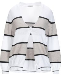 Cappellini By Peserico - Cardigan - Lyst
