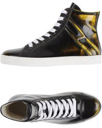 Hogan Rebel - Sneakers abotinadas - Lyst