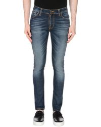 Nudie Jeans - Denim Trousers - Lyst