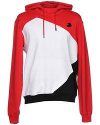 3ba4bc651230 Lyst - Colour-block print hoodie Off-White c o Virgil Abloh pour ...