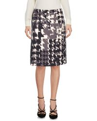 Strenesse - Knee Length Skirts - Lyst