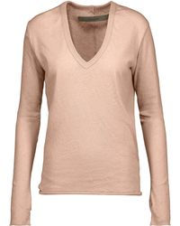 Enza Costa Sweater - Pink