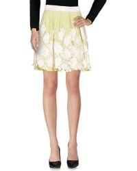 X's Milano - Knee Length Skirts - Lyst