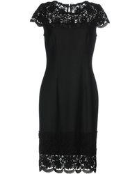 St. John - Knee-length Dress - Lyst