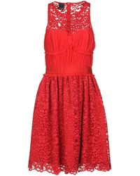 il più economico ordine caldo-vendita Vestito corto - Rosso