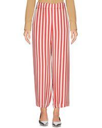 TROUSERS - 3/4-length trousers Shirtaporter 4DzZC