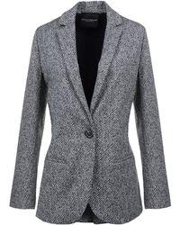 Erika Cavallini Semi Couture - Blazers - Lyst