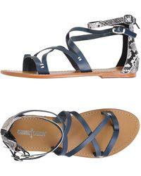 Minnetonka - Toe Post Sandal - Lyst