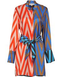 Diane von Furstenberg - Short Dress - Lyst