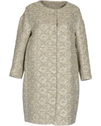 Cappellini By Peserico - Overcoats - Lyst