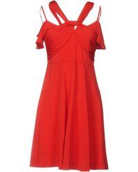 Twin Set - Short Dress - Lyst