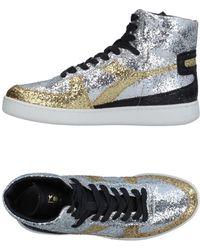 High tops & Sneakers Metallic