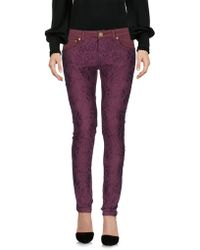 Frankie Morello - Casual Trousers - Lyst
