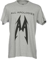 All Apologies - T-shirts - Lyst