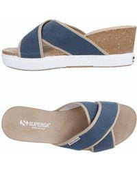 Superga - Sandals - Lyst