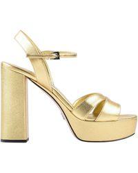 Prada - Sandale - Lyst
