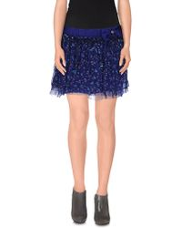 Scee By Twin-set - Mini Skirt - Lyst