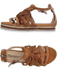 FOOTWEAR - Toe post sandals Rebecca White n6ZIMdTB