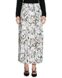 White Mountaineering - 3/4 Length Skirt - Lyst
