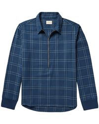 Simon Miller - Plaid Cotton-twill Shirt - Lyst
