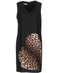 Boutique Moschino - Short Dresses - Lyst