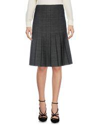 Brooks Brothers - Knee Length Skirt - Lyst