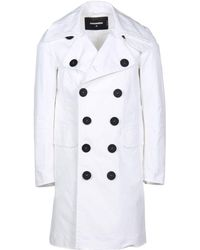 DSquared² - Overcoat - Lyst