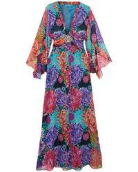 bd1ba12162 Lyst - Matthew Williamson Long Dress in Orange