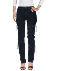 Diesel Black Gold - Denim Pants - Lyst
