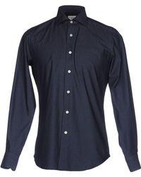 Massimo La Porta - Denim Shirt - Lyst