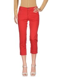 No.Sit - 3/4-length Trousers - Lyst