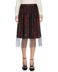 X's Milano - 3/4 Length Skirts - Lyst