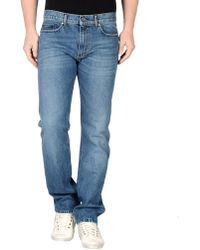Ports 1961 - Denim Pants - Lyst