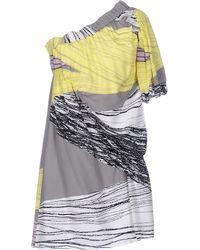 4de97dfcb97e Lyst - M Missoni Short Dress in Purple