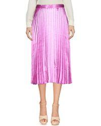 Vero Moda - 3/4 Length Skirt - Lyst
