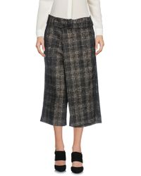 Malloni - 3/4-length Trousers - Lyst