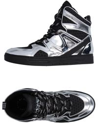 84afcb65593e Lyst - Marc By Marc Jacobs Camouflage Wedge Sneakers in Black