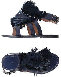 Twin Set - Fringed Sandals - Lyst