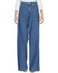 French Connection - Denim Trousers - Lyst