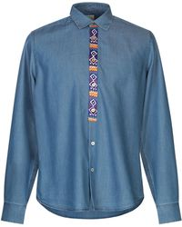 Paul Smith - Camicia jeans - Lyst