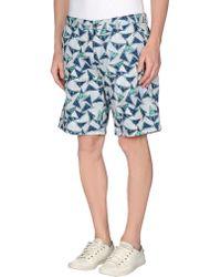 Farah - Bermuda Shorts - Lyst