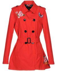 Desigual - Overcoats - Lyst