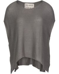0f23c87fc0d Lyst - Marc Jacobs Chunky-knit Cropped Pullover in Gray