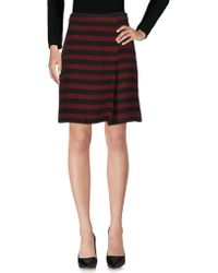 Paola Frani - Knee Length Skirt - Lyst