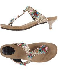 Maliparmi - Toe Strap Sandals - Lyst