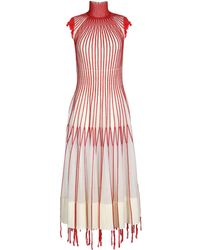 Alexander McQueen - 3/4 Length Dress - Lyst