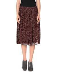 Attic And Barn - Knee Length Skirt - Lyst